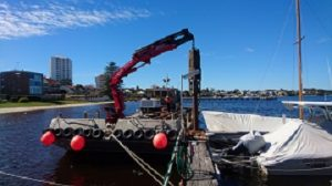 Pile Driving and Jetty Repair Claremont Yacht Club